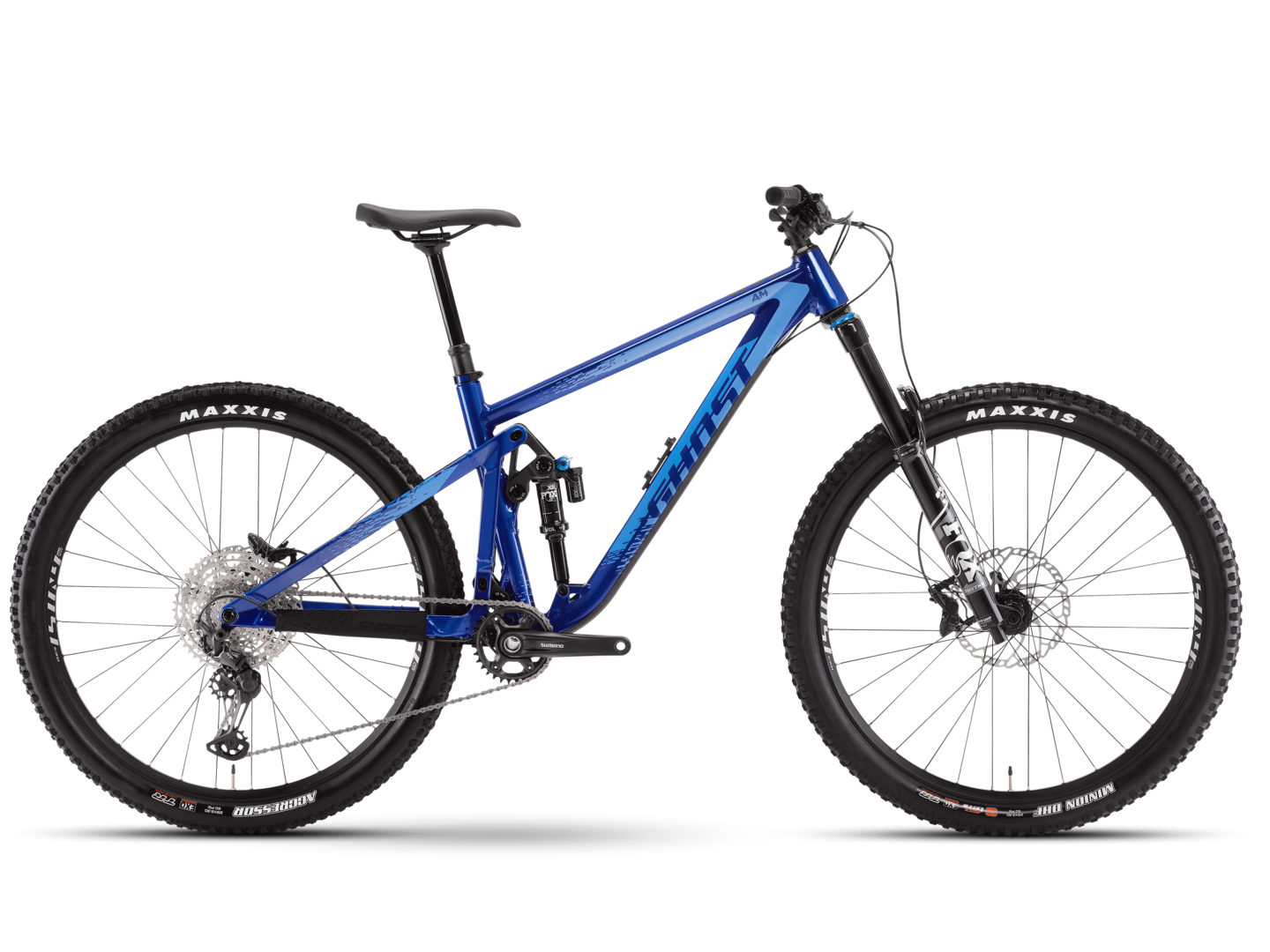 [Translate to English:] seitenansicht mtb fully ghost bikes riot trail am essential