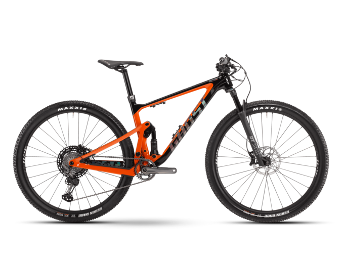 [Translate to English:] fully mtb ghost bikes lector fs pro