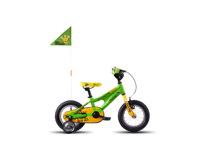 [Translate to English:] Powerkid 12 Kidsbike Kinderfahrrad Hardail GHOST