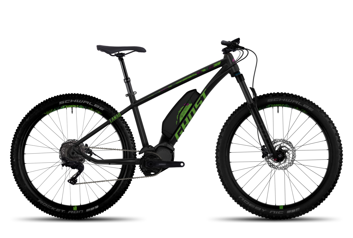 Hybride Lanao 6 AL Mountainbike Fahrrad Fully GHOST