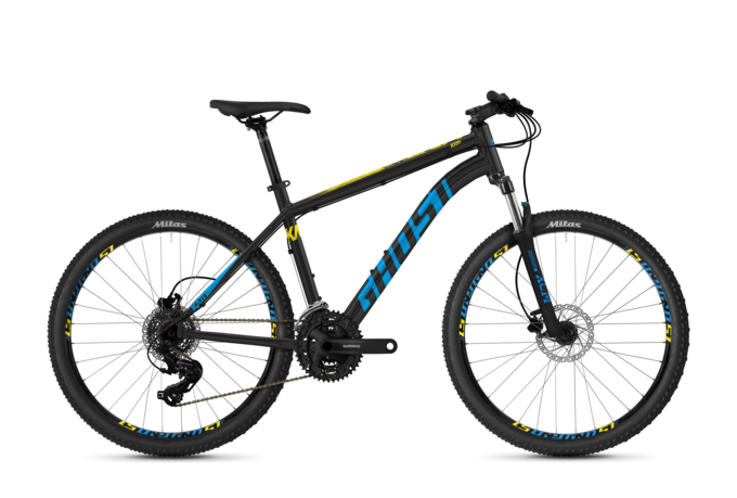 [Translate to English:] seitenansicht ghost bikes kato 26 zoll hardtail