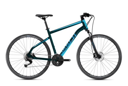 seitenansicht ghost bikes square cross base crossbike