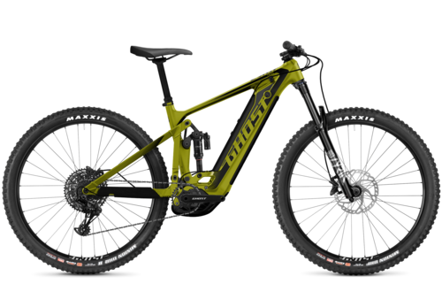 seitenansicht ghost bikes e-riot trail advanced emtb