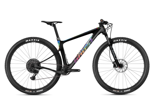 seitenansicht ghost bikes lector world cup hardtail