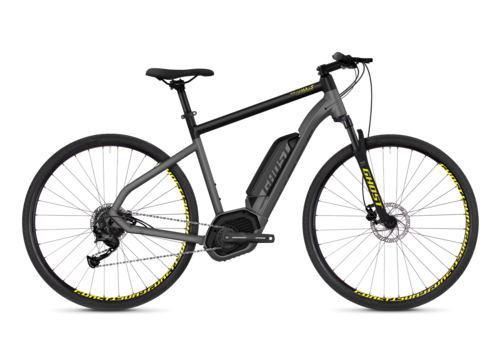 Hyb SQUARE Cross B2.9 AL Fahrrad Lanes GHOST