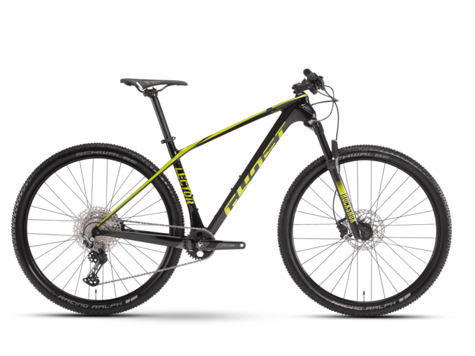 [Translate to English:] hardtail mtb ghost bikes lector base