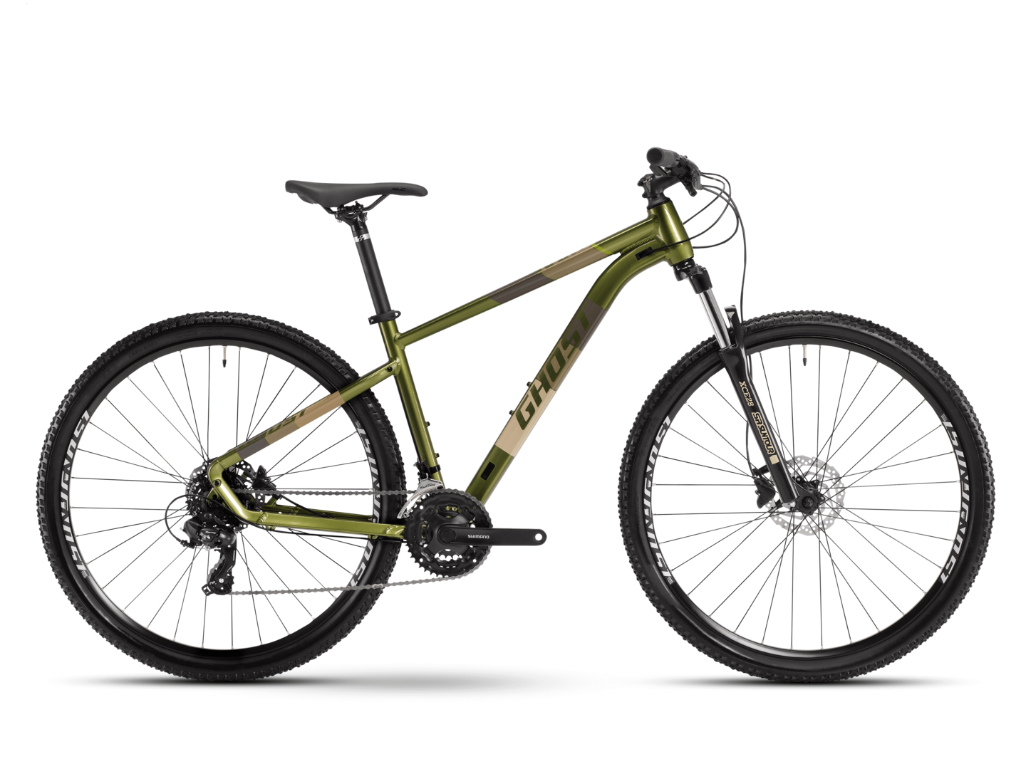 [Translate to Spanisch:] seitenansicht mtb hardtail ghost bikes kato base 29
