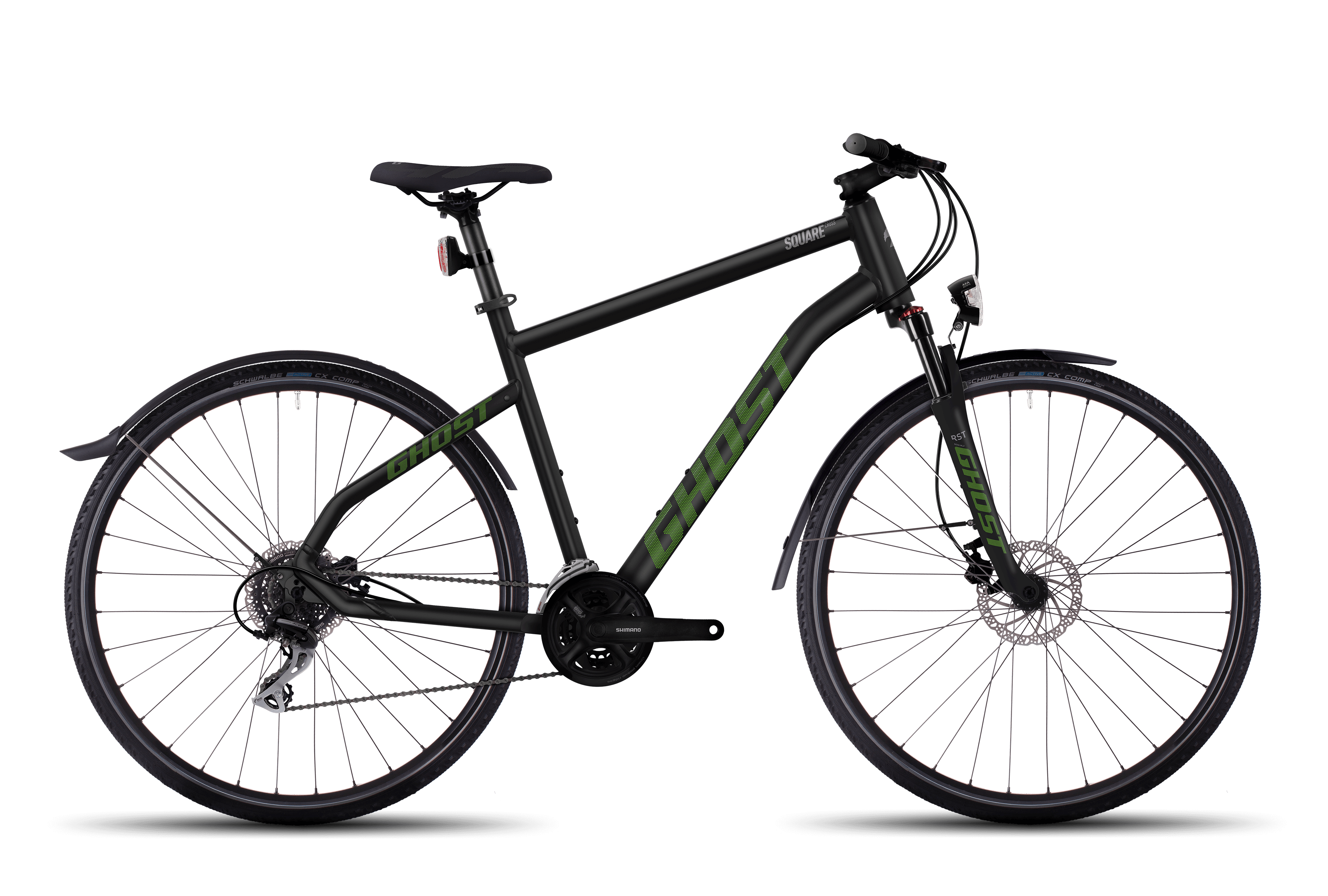 SQUARE Cross X 3 AL Fahrrad Lanes GHOST