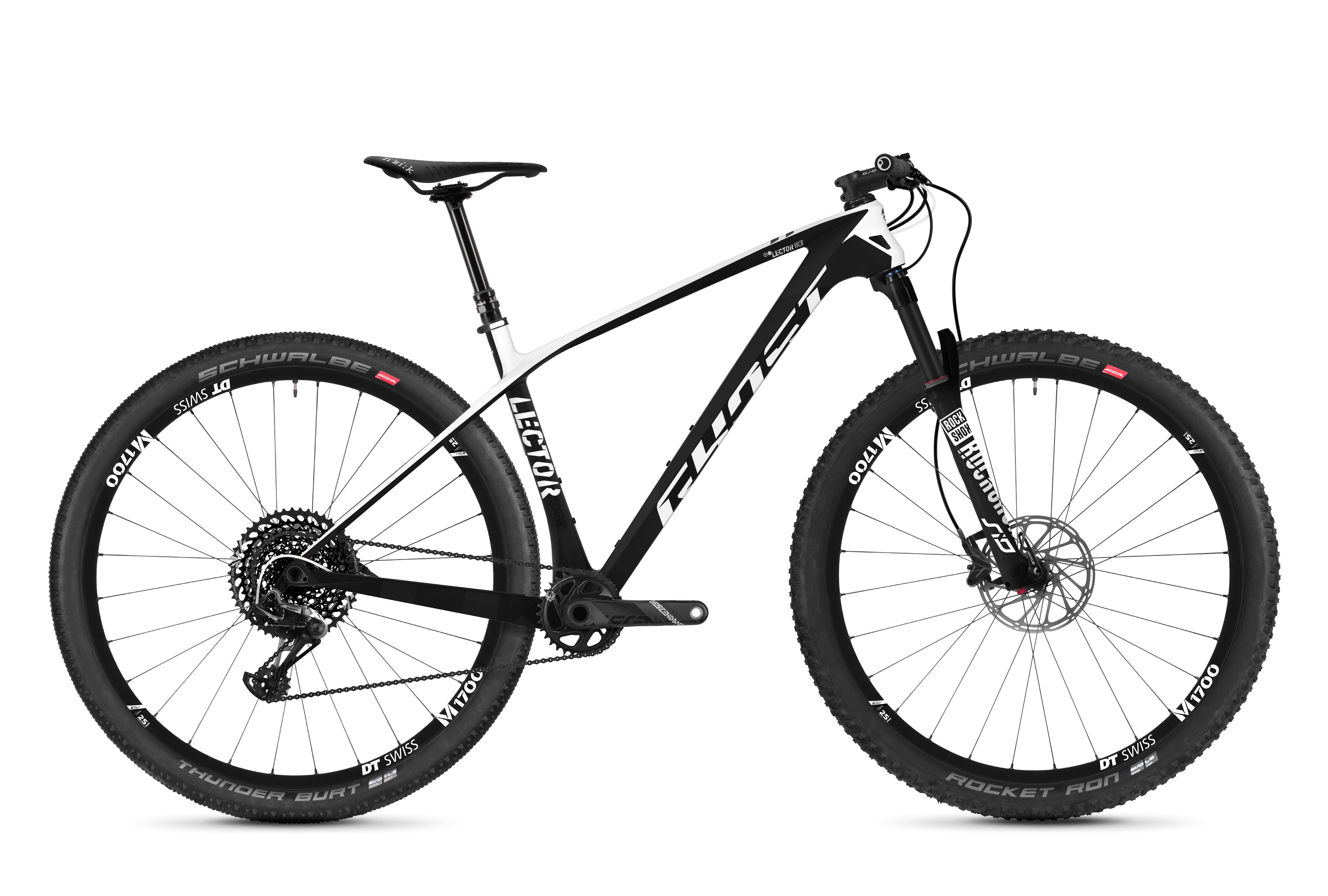 LECTOR WCR.9 LC Mountainbike MTB / Fahrrad Hardtail GHOST