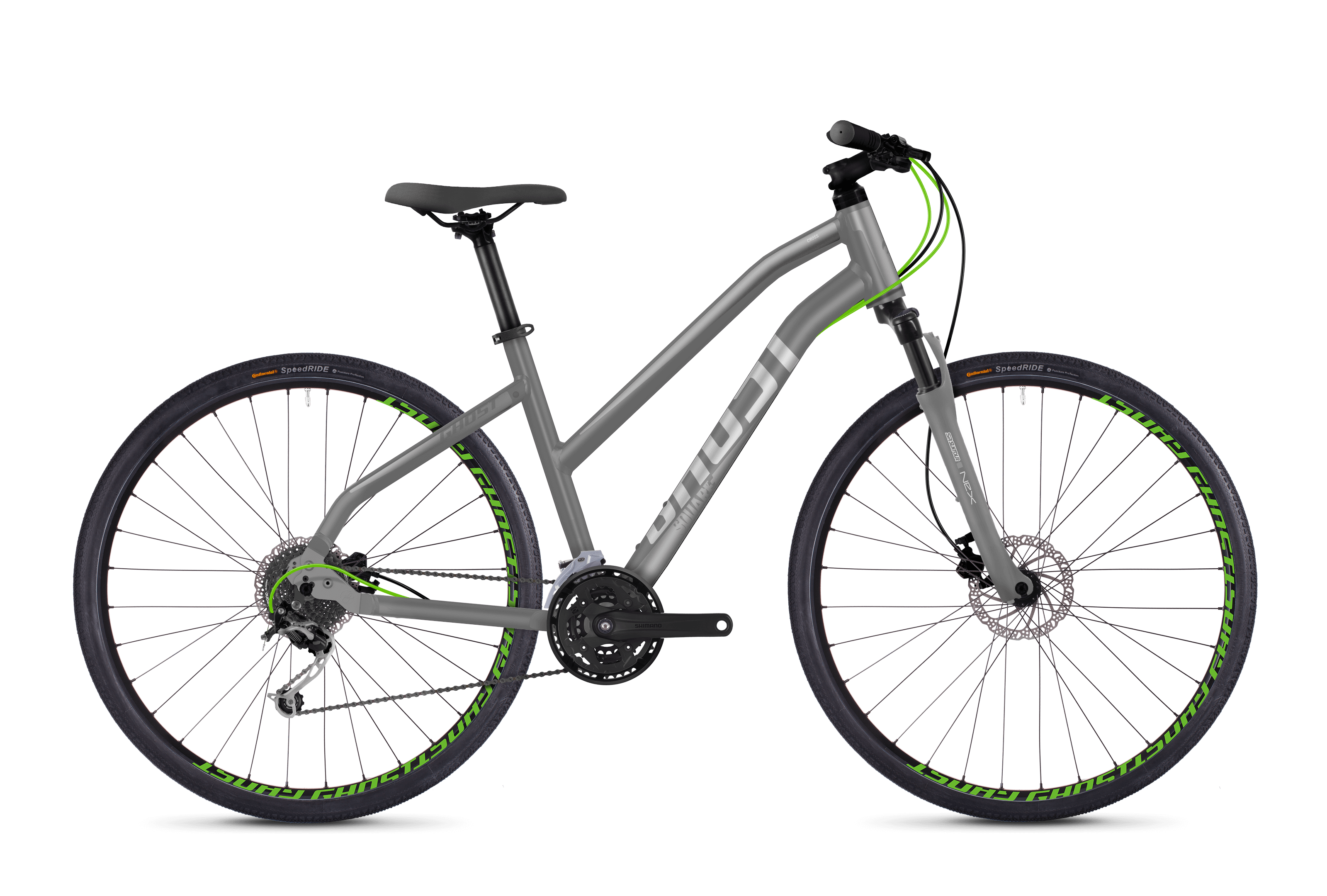 Square Cross 2.8 AL W Fahrrad Lanes GHOST