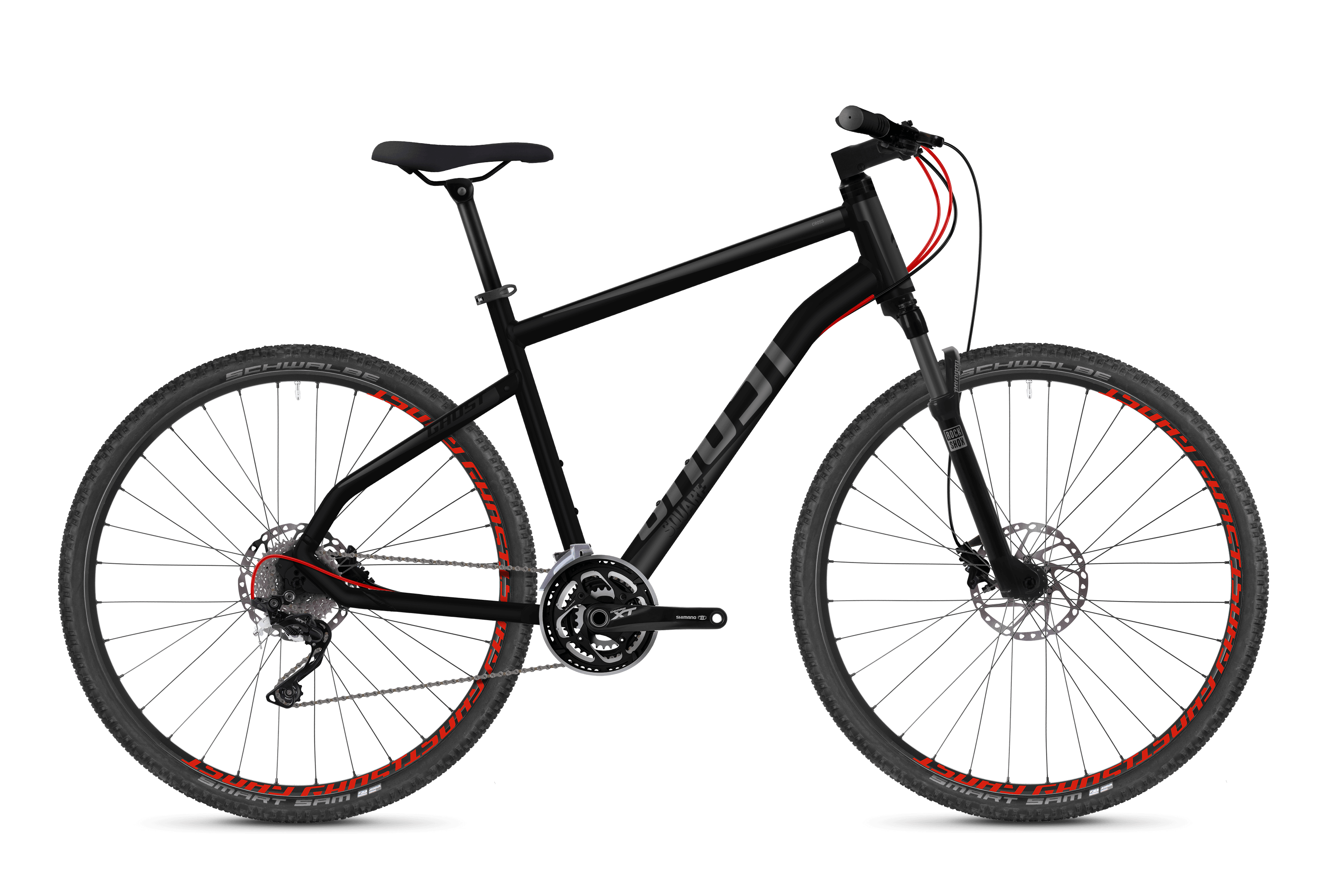 Square Cross 7.8 AL Fahrrad Lanes GHOST