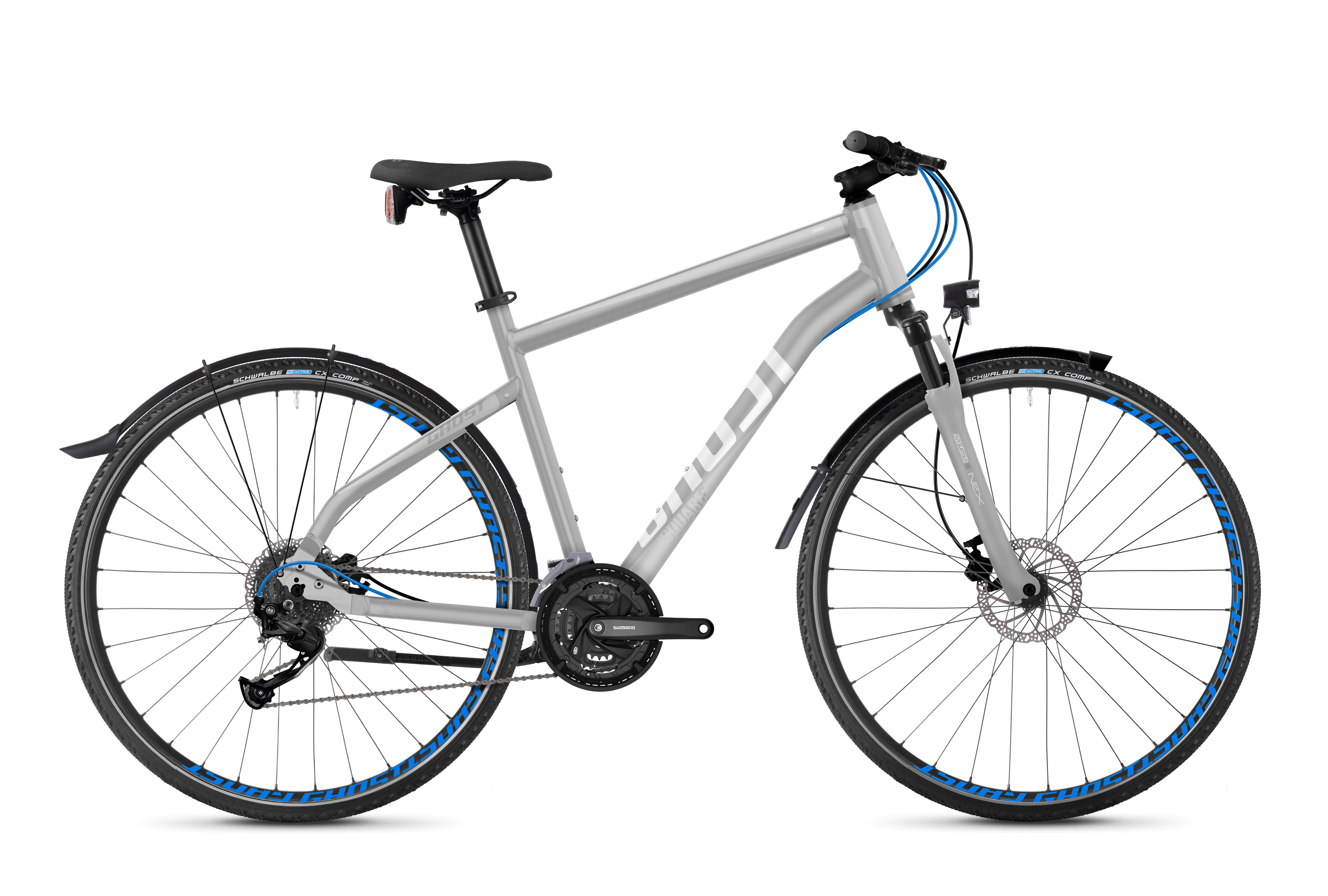 SQUARE Cross X 3.8 AL Fahrrad Lanes GHOST