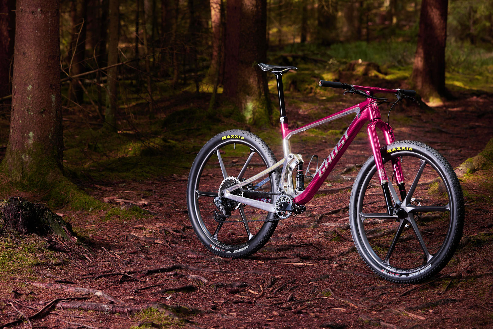 mtb full suspension ghost bikes lector fs
